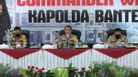 Kapolda Banten : Jadilah Polisi yang Empati, Mengayomi dan Dekat Dengan Rakyat