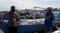 Bhabinkamtibmas Pulau Mattiro Baji Sambangi Nelayan, Ini Pesannya