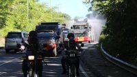 Brimob Papua Barat Kembali Lakukan Penyemprotan Disinfektan Dengan Skala Besar