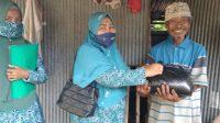 Tim penggerak pkk desa Laikang rutin adakan jumat berkah