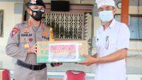 Dansat Brimob Polda Bali Katakan, Penyerahan Bantuan Masker Ini Adalah Upaya Polda Bali Menanggulangi Covid-19