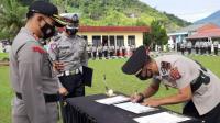 Sertijab Kasat Reskrim dan Kapolsek Batipuh Selatan Di Pimpin Kapolres AKBP Apri Wibowo, S.I.K