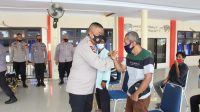 Jaga Ketahanan Pangan Dimasa Pandemi, Brimob Polda Sultra, Tanami Lahan Kosong di Komplek Makosat
