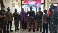 Tim Wasev Kodam Jaya Tinjau Posko PPKM Skala Mikro di Pasar Minggu Jaksel