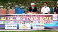 Ketua DPRD Tanah Datar Saksikan langsung LST Antara Excellent Oldstar vs Singgalang Fc