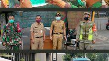 Koramil 05/ Keb Baru Beserta Tiga Pilar Gelar Operasi Yustisi dan Bagikan Masker Pada Pengguna Jalan