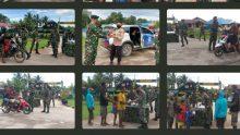 Satgas TNI Yonif 756/WMS Berbagi Takjil Untuk Keberkahan Dibulan Ramadhan