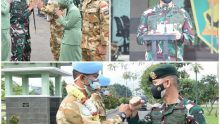 Komandan Batalyon Zipur 9 Kostrad Sambut Hangat Prajuritnya Purna Tugas