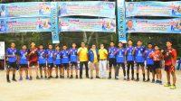 Gelaran Frindly Match Bola Volly Di Buka Secara Resmi Oleh Bupati Suhatri Bur