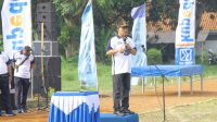 Dengan Bersepeda, Kapolres Ciko Dukung Peresmian Lapangan Olahraga Sarwajala TNI AL Cirebon