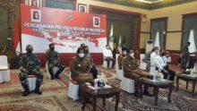 Danlantamal IV Melalui Vicon Hadiri Pengarahan Presiden RI Pada Kepala Daerah Se-Indonesia