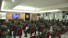 Segenap Perwira Lantamal IV Dan Lanal Jajaran Ikuti Bimtek Pembangunan Zona Integritas