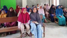 Gebyarkan Gerakan Al-Maun, Pimpinan Ranting Muhammadiyah Sungai Jernih Talu Santuni 25 Anak Yatim Piatu