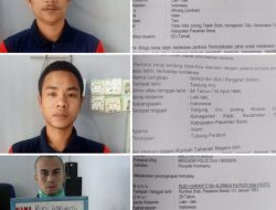 WANTED ! Tiga Narapidana Kasus Narkoba Kabur dari Lapas Talu, Bagi yang Mengetahui Harap Laporkan