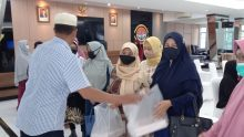 Pipal Lantamal IV Laksanakan Tausyiah Ramadhan 1442 H/2021 M Secara Virtual