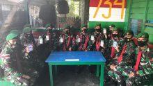 Satgas Yonif 734/Sns Dukung dan Sosialisasikan Program Aplikasi Klassku
