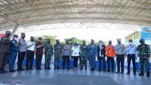 Wako Makasar Hadiri Apel Pelepasan Personel Pengamanan Hari Raya Idul Fitri 1442