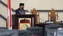 Wako Makassar Dannya Pomanto Hadiri Rapat Paripurna DPRD Kota Makassar