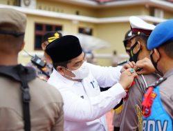 Bupati Pimpin Apel Gelar Pasukan Operasi Ketupat Singgalang 2021