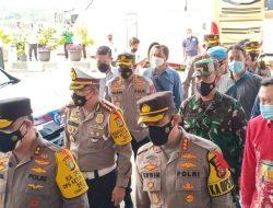 Kapolres, Wawako dan Dandim 0505/JT Dampingi Kapolda Metro Jaya di Terbus Pulogebang