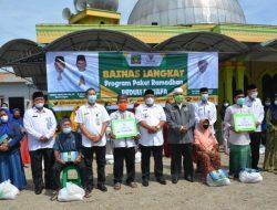 Bupati Langkat Serahkan Bantuan Untuk Masjid dan Kaum Dhuafa