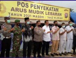 Bupati Pessel Rusma Yul Anwar, Cek Pos Sekat Batas Silaut – Bengkulu