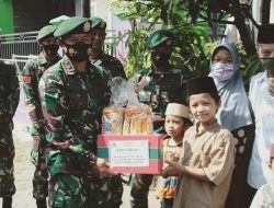 Batalyon Kavaleri 8 Kostrad Gelar Karya Bakti dan Bakti Sosial