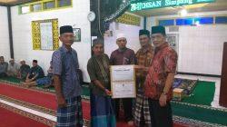 Kunjungi Mesjid Nurul Ihsan, Bakri Bakar ingatkan Jaga Kesehatan dan tetap Semangat