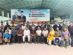 Niniak Baharuddin R Babuko Basamo Dengan Jurnalis Pasbar, Ada Kain Sarung dan THR