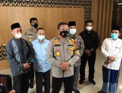 Dukung SE Walikota Pekanbaru, Tokoh Agama Riau Gelar Pertemuan Dengan Polda Riau