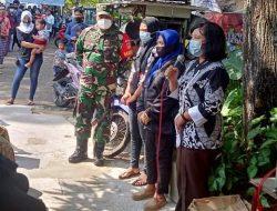 Wujud Empati Babinsa Takziah Warga di wilayah Binaannya