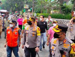 Usai Lebaran, Tiga Pilar Jaksel Kunjungi Warga Duren Tiga Pancoran Yang Telanjur Mudik