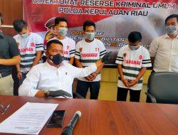 Ditreskrimsus Polda Kepri Ungkap Kasus Tindak pidana Curas