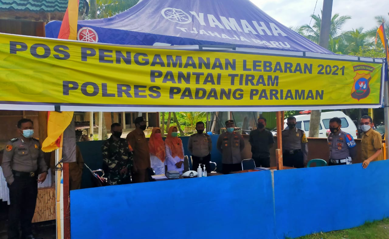 Sikapi Se Bupati Dan Gubernur Polsek Nan Sabaris Lakukan Sidak Objek Wisata Di Ulakan Tapakih
