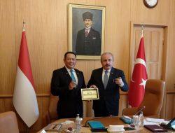 Bamsoet dan Ketua Parlemen Turki Minta PBB Keluarkan Resolusi Hentikan Agresi Israel ke Palestina