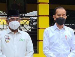 Presiden Jokowi Tinjau Pembangunan Tol Pekanbaru – Sumbar