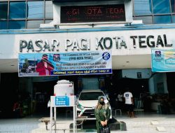 Press Release, 22 mei 2021 Dewi Aryani Kunjungi Pasar Pagi Kota Tegal : Prokes Jangan Kendor