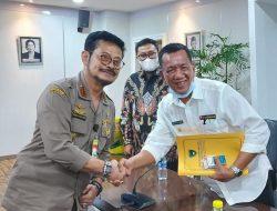 Bupati Pessel, Rusma Yul Anwar Bertemu Menteri Pertanian RI Syahrul Yasin Limpo