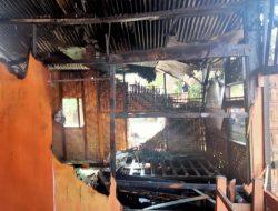 Warung Makan Di Desa Bundar Terbakar