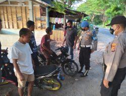 Patroli Dialogis Polsek Gangga Berikan Pemahaman Pentingnya Prokes Ke Warga