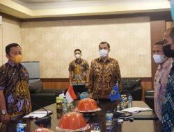 Melalui Virtual, Wabup Jeneponto ikuti Rakoor Nasional Pengawasan Intern Pemerintah. Ini Penekanan Presiden Jokowi