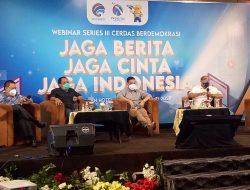 Kemenkominfo RI Gelar Webinar Series III di Pekanbaru Jaga berita, Jaga Cinta, Jaga Indonesia