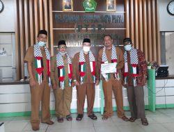 Kemenag Aceh Tamiang Salurkan Bantuan Rp. 34.708.500 Ke Palestina