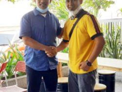 Bahas Partai Umat, Politisi Taslim Temui Oom Chaniago Kinali Di Kota Padang