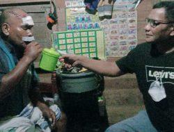 Kabag Sumda Polres Pasbar Kompol Muzhendra Jenguk Korban Kecelakaan Akrim Tanjung