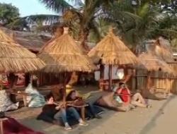 Namina Cafe Tempat Nongkrong Eksotic di Pantai Citepus Palabuhanratu