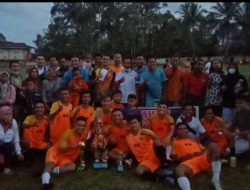 Kalahkan Raditya.FC Lewat Drama Adu Penalti, Padang Ganting.FC Juara Open Tournament Amos Cup IX Tahun 2021