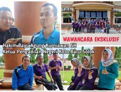 Kunjungan Kerja Pengadilan Negeri Koto Baru Solok Pada Pengadilan Negeri Pasaman Barat, Saling Akrab