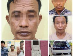 Curi Ternak Sapi di Rimbo Binuang, Ayah dan Anak Ditangkap Reskrim Polres Pasbar