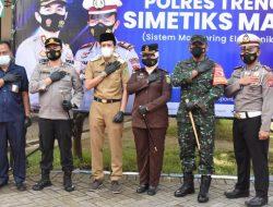 Mantap !! Polres Trenggalek Launcing Pertama di Indonesia , Visulalisasi Uji Praktik Sim